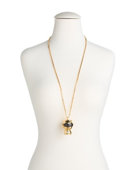 Karl Lagerfeld figure chain necklace watch Image 4