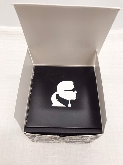 Karl Lagerfeld figure chain necklace watch Image 8