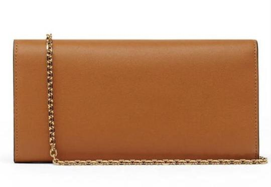 MCM Tote Chain Wallet Stud Leather Cross Body Bag Image 2