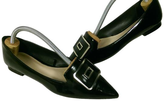 Preload https://img-static.tradesy.com/item/25329198/zara-black-wgolden-accents-woman-s-patent-leather-slip-on-gold-square-dress-casual-flats-size-us-65-0-1-540-540.jpg