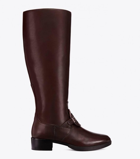 Tory Burch Burnt Chocolate Boots Image 1