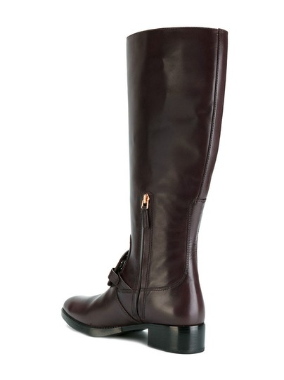 Tory Burch Burnt Chocolate Boots Image 3
