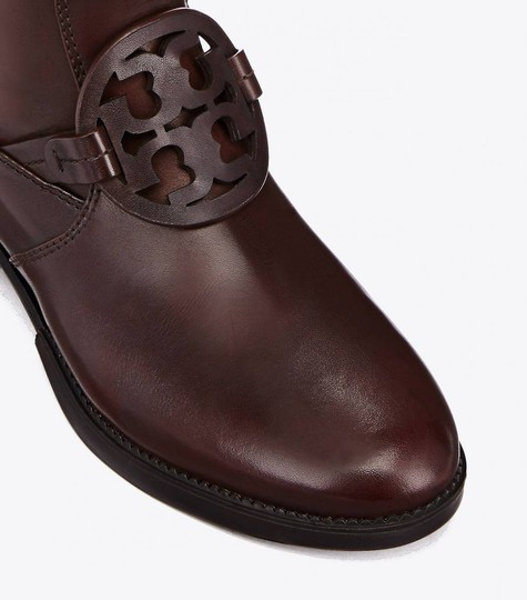Tory Burch Burnt Chocolate Boots Image 5