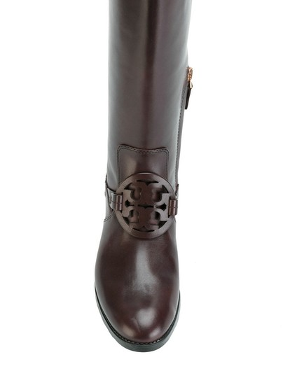 Tory Burch Burnt Chocolate Boots Image 6