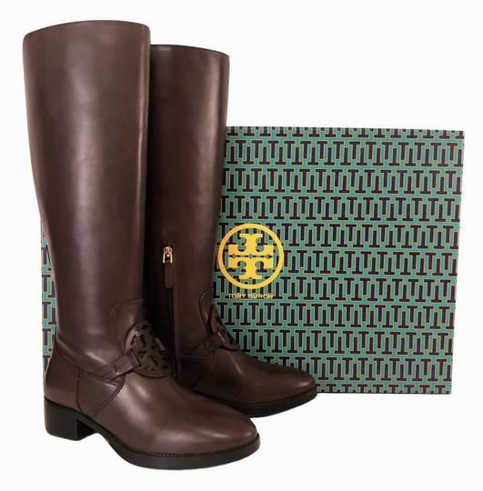 Tory Burch Burnt Chocolate Boots Image 7