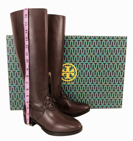 Tory Burch Burnt Chocolate Boots Image 8