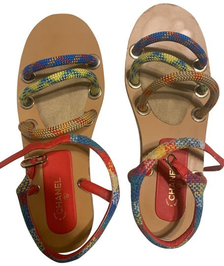 Preload https://img-static.tradesy.com/item/25329231/chanel-multicolor-cruise-sandals-size-us-11-regular-m-b-0-1-540-540.jpg