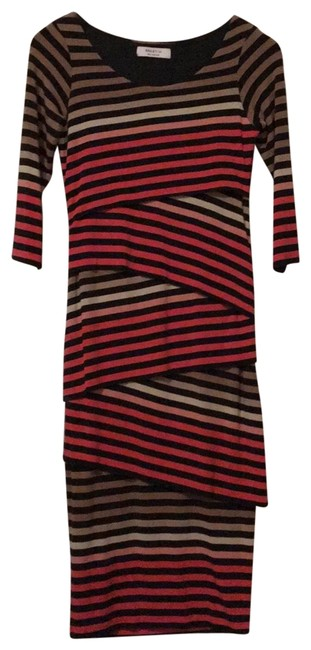 Preload https://img-static.tradesy.com/item/25329271/bailey-44-black-cream-rose-pink-tan-anthropologie-style-ant-1286-mid-length-casual-maxi-dress-size-4-0-1-650-650.jpg