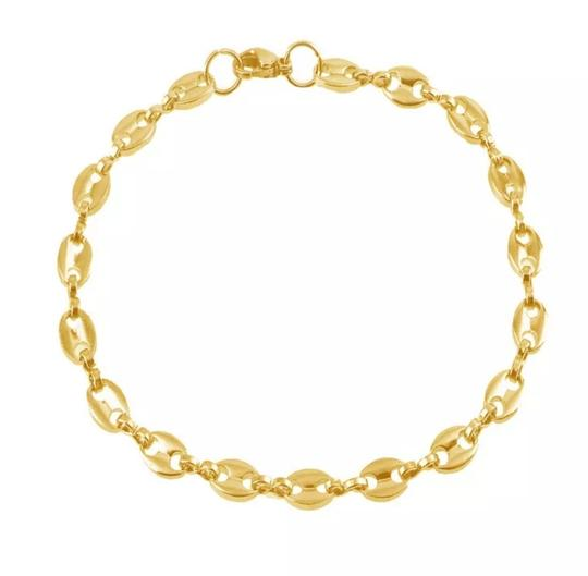 Other GUCCI STYLE LINK 5MM/8 INCH UNISEX BRACELET Image 3