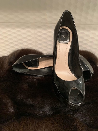 Dior Black Pumps Image 4
