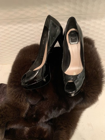 Dior Black Pumps Image 5