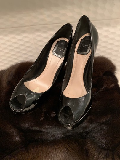 Dior Black Pumps Image 6