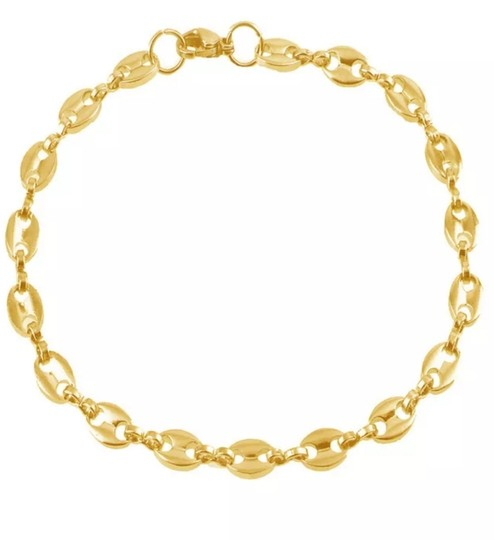 Other GUCCI STYLE LINK 5MM/8 INCH UNISEX BRACELET Image 4
