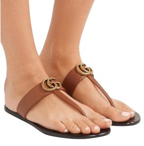 38116381b5e Gucci Sandals - Flat - Up to 90% off at Tradesy