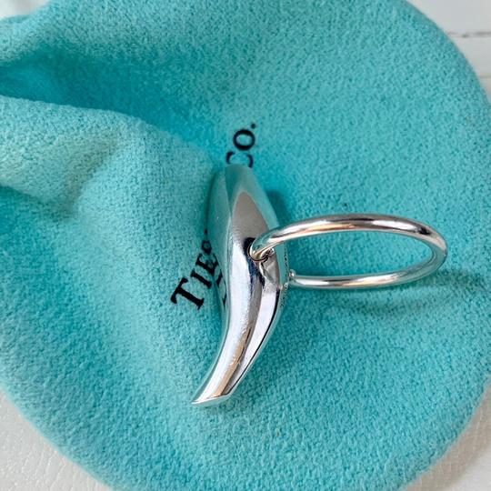 Tiffany & Co. Silver Frank Gehry Fish Ring SIZE 6.5 POUCH BOX Image 7