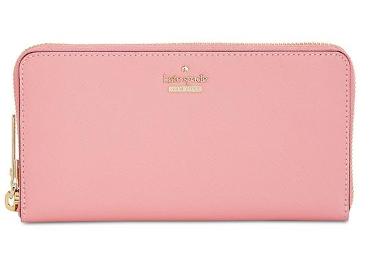 Kate Spade kate spade Cameron Street Lacey Pink Majoli Leather Wallet Image 4