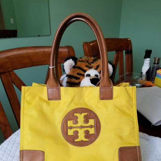 Tory Burch Tote in Yellow Image 8