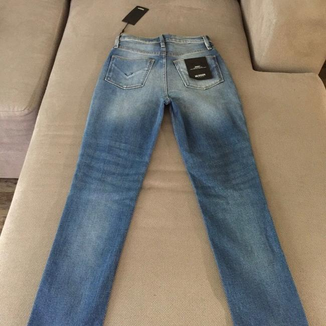 Hudson Straight Leg Jeans-Medium Wash Image 2