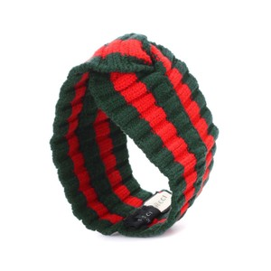 Gucci stripe wool blend headband