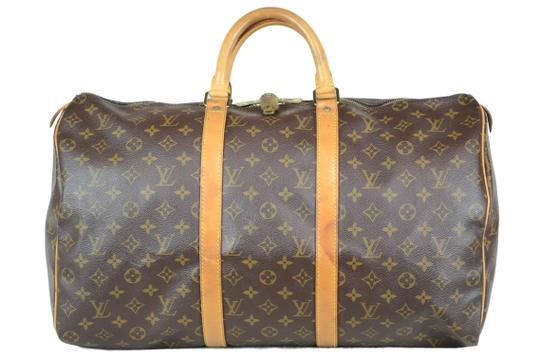 Preload https://img-static.tradesy.com/item/25329573/louis-vuitton-keepall-50-monogram-brown-canvas-tote-0-0-540-540.jpg