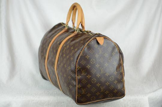 Louis Vuitton Keepall Monogram Tote in Brown Image 1