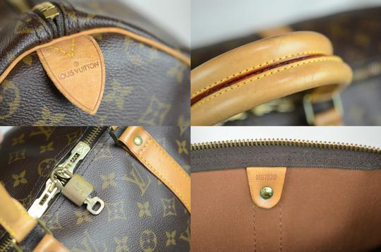 Louis Vuitton Keepall Monogram Tote in Brown Image 5