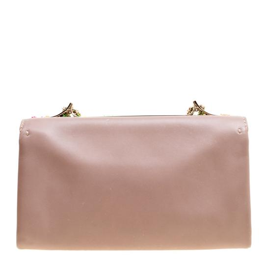 Valentino Leather Embellished Shoulder Bag Image 1