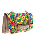 Valentino Leather Embellished Shoulder Bag Image 3