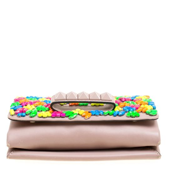 Valentino Leather Embellished Shoulder Bag Image 5