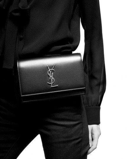 Saint Laurent Gold Hardware Belted Cross Body Bag Image 2