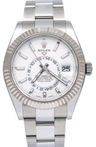 Rolex Rolex Sky-Dweller 326934 42MM White Dial With Stainless Steel