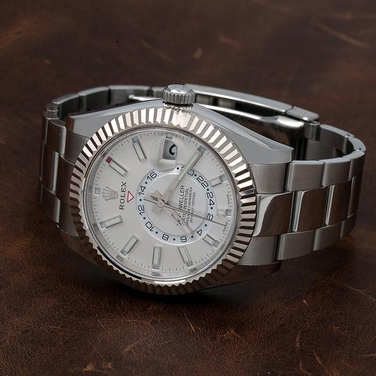 Rolex Rolex Sky-Dweller 326934 42MM White Dial With Stainless Steel Image 1