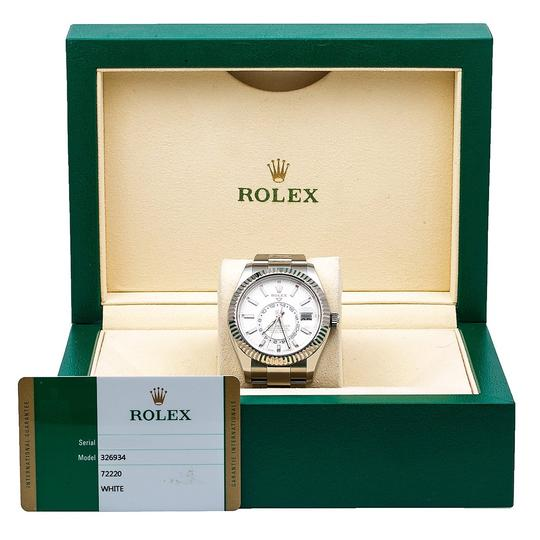 Rolex Rolex Sky-Dweller 326934 42MM White Dial With Stainless Steel Image 5