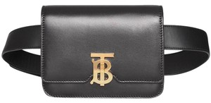 Burberry Gold Hardware Belted Cross Body Bag