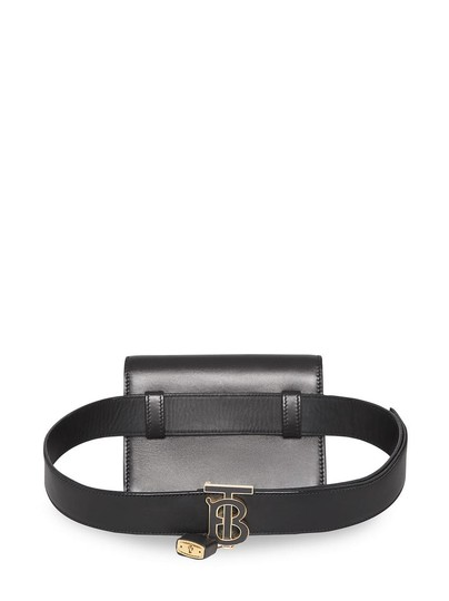 Burberry Gold Hardware Belted Cross Body Bag Image 3