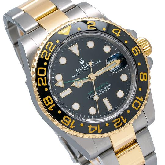 Rolex Rolex GMT-Master II 116713 40MM Black Dial With Two Tone Jubilee Image 2