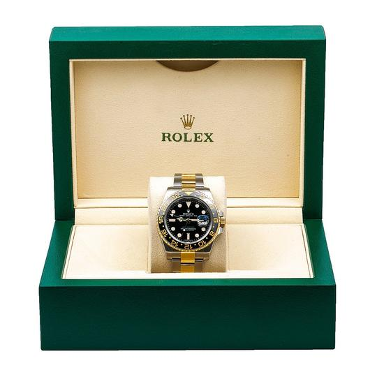 Rolex Rolex GMT-Master II 116713 40MM Black Dial With Two Tone Jubilee Image 5