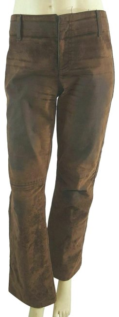 Preload https://img-static.tradesy.com/item/25329891/dkny-brown-distressed-edgy-moto-boot-cut-jeans-size-30-6-m-0-1-650-650.jpg