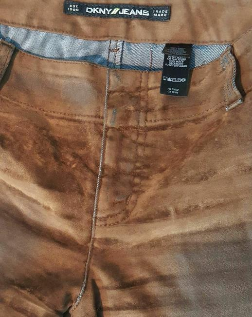 DKNY Boot Cut Jeans-Distressed Image 9