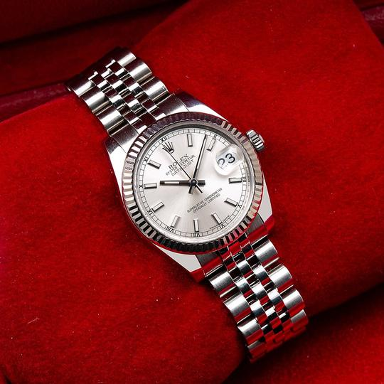 Rolex Rolex Datejust 178274 31MM Silver Dial With Stainless Steel Image 1