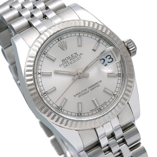Rolex Rolex Datejust 178274 31MM Silver Dial With Stainless Steel Image 2