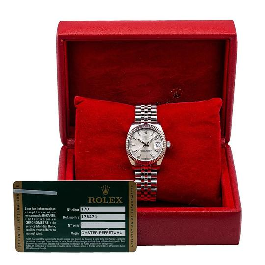 Rolex Rolex Datejust 178274 31MM Silver Dial With Stainless Steel Image 5