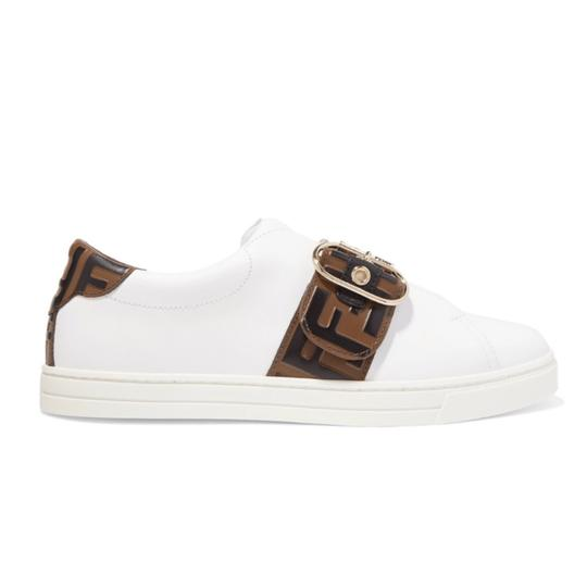Preload https://img-static.tradesy.com/item/25329896/fendi-logo-embossed-leather-sneakers-sneakers-size-eu-37-approx-us-7-regular-m-b-0-0-540-540.jpg
