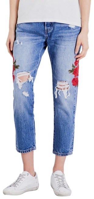 Preload https://img-static.tradesy.com/item/25329905/levi-s-blue-501-embroidered-distressed-taper-crop-capricropped-jeans-size-25-2-xs-0-1-650-650.jpg