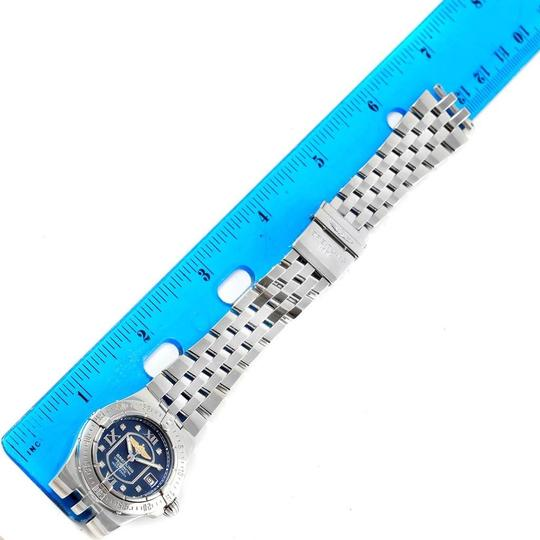 Breitling Breitling Starliner Blue Diamond Dial Steel Ladies Watch A71340 Image 8