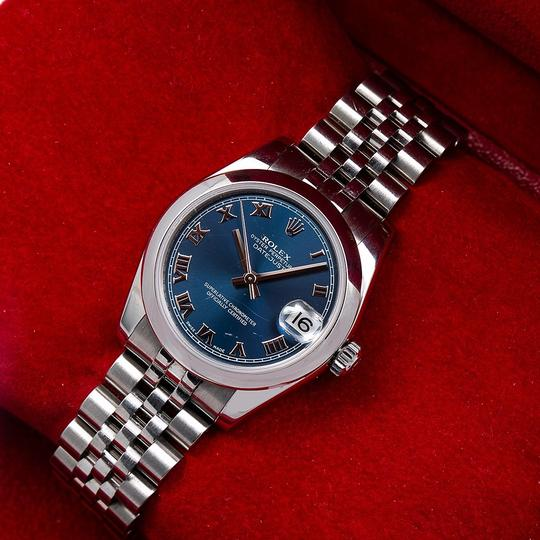 Rolex Rolex Datejust 178240 31MM Blue Dial With Stainless Steel Jubilee Image 1