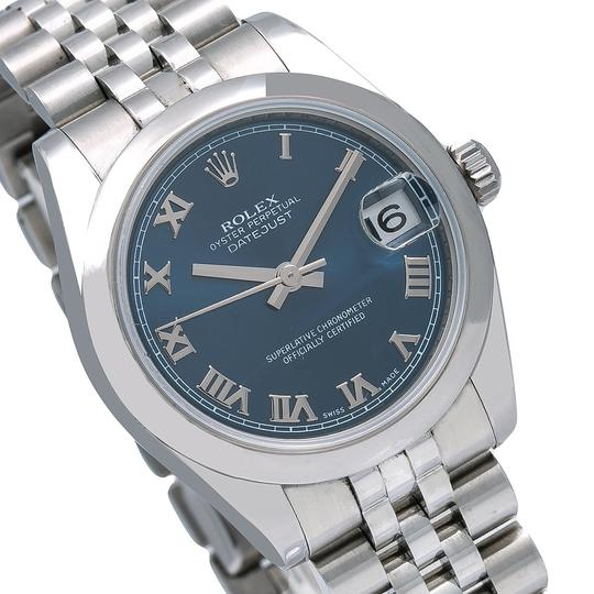 Rolex Rolex Datejust 178240 31MM Blue Dial With Stainless Steel Jubilee Image 2