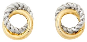 Ann Taylor Ann Taylor twisted metal stud earring