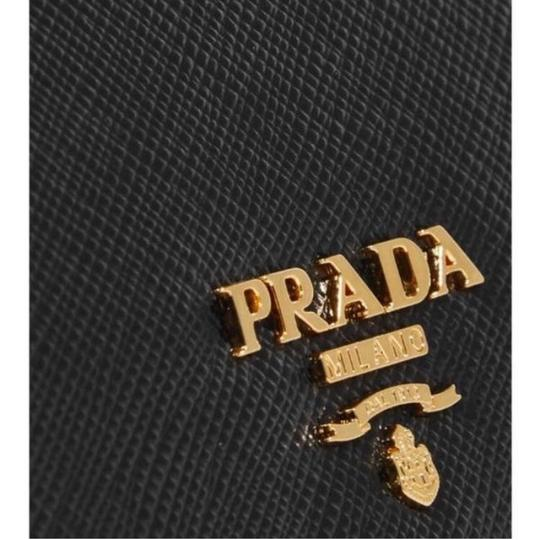 Prada saffiano leather flap continental long wallet Image 3