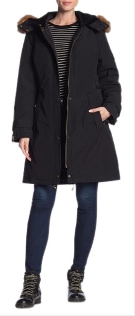Preload https://img-static.tradesy.com/item/25329944/pendleton-black-parka-coat-size-8-m-0-1-650-650.jpg